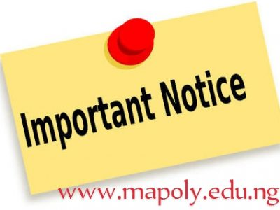 Important Notice to HND I Students on Statement of Results