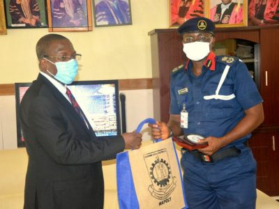 Ogun State NSCDC Commandant visits MAPOLY